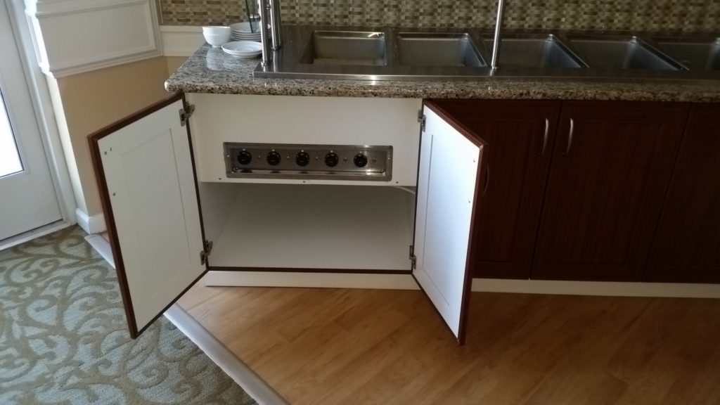 custom base cabinets